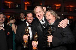 Ryan Bingham, T-Bone Burnett y Jeff Bridges en Crazy Heart, The Weary Wind