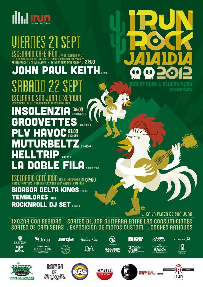 3er Festival Irun Rock 2012 Jaialdia