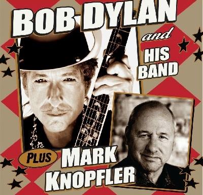 Bob Dylan y Mark Knopfler gira norteamericana 2012 del 5 de octubre al 21 de noviembre