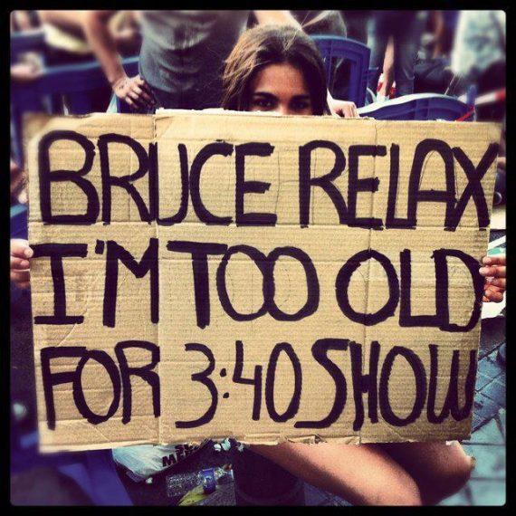 Springsteen and The E Street Band en Madrid su concierto duró 3 horas y 50 minutos