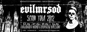 EvilMrSod Spain Tour Gira española 2012 Valladolid, Madrid, Zaragoza y Barcelona. Are you erady for the country?