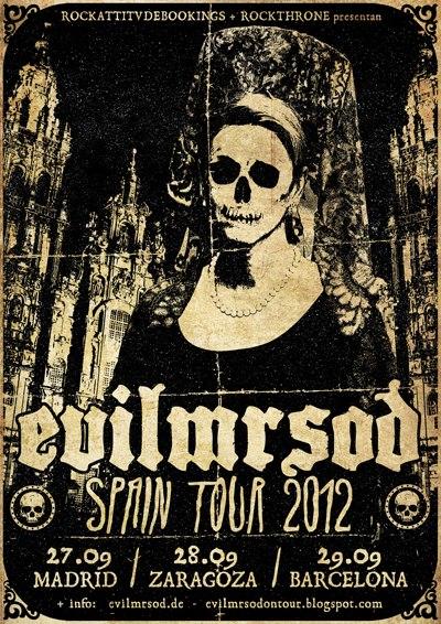 EvilMrSod gira española por Madrid, Zaragoza y Barcelona en septiembre 2012