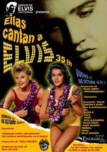Fiesta Elvis Presley 35 aniversario, 10º Tenerife Festival 50′s Rock'n'Roll de Vulcan Rockers