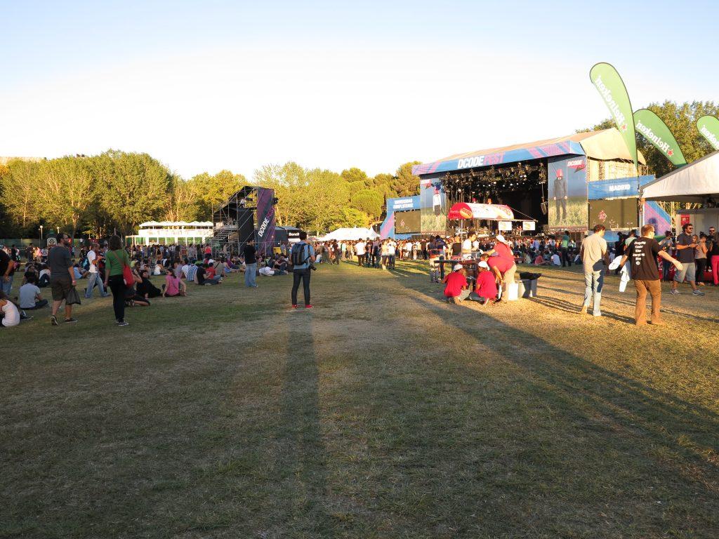 Escenario principal, DCode Fest