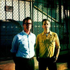 John Convertino y Joey Burns a la derecha, Calexico y su nuevo disco y gira española con Algiers