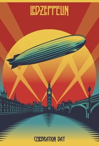 """Led Zeppelin """"Celebration Day"""" en el cine el próximo 17 de octubre y DVD, Cd y Blu-Ray el 19 de noviembre 2012"""