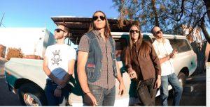 Los Coronas grabando en WaveLab Recording Studios en Tucson, Arizona