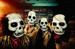 Los Tiki Phantoms en el 10º Tenerife Festival 50′s Rock'n'Roll de los Vulcan Rockers
