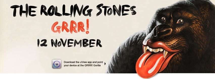 The Rolling Stones nuevo disco  GRRR! 12 noviembre 2012