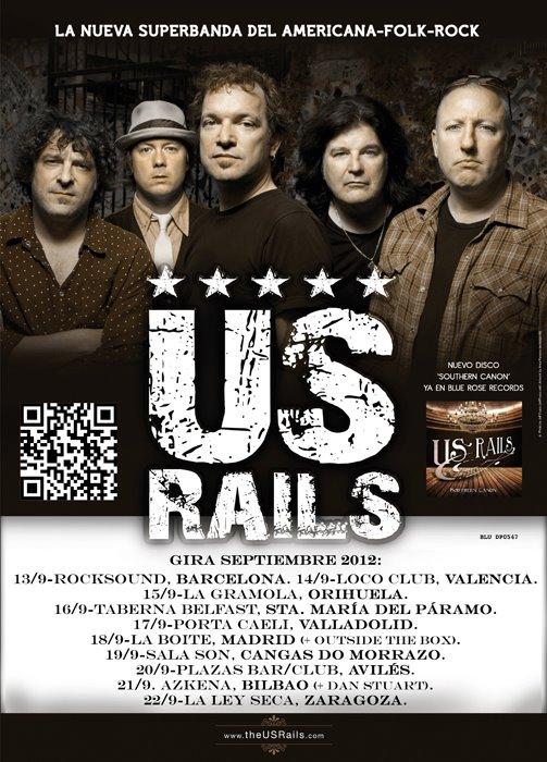 US RAILS gira española y europea en septiembre