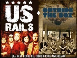 US Rails y Outside the Box en Madrid sala La Boite 18 de septiembre