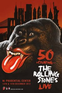 50 & Counting The Rolling Stones Live en New Jersey Prudential Center el 13 y 15 de diciembre de 2012