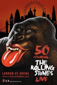50 & Counting The Rolling Stones Live en el London O2 Arena de Londres 15 y 29 de noviembre de 2012