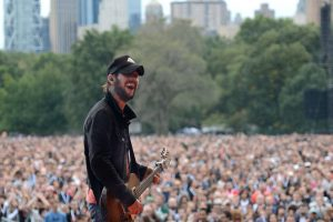 Band of Horses en el Global Citizen Concert en Nueva York 2012