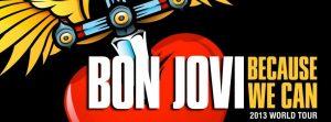Because We Can nueva gira mundial de Bon Jovi 2013