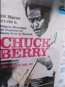 Chuck Berry en Santa Cruz de Tenerife 28 de marzo de 2008