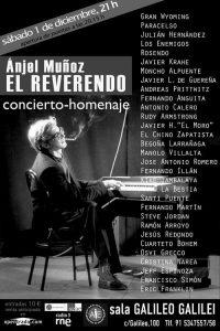 Concierto Homenaje a Angel Muñoz El Reverendo 1 diciembre 2012