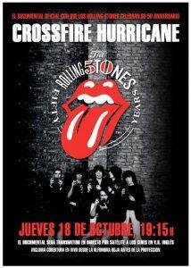 """""""CrossFire Hurricane"""" estreno del documental de The Rolling Stones el 18 de octubre"""