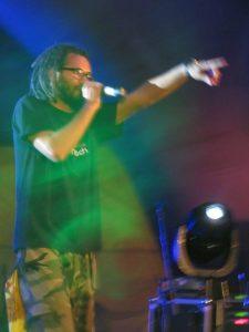 Dactah Chando en el Aguere Reggae Tenerife 27 octubre 2012