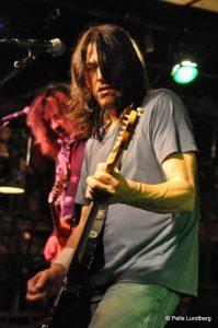 Dan Baird and Homemade Sin compartiendo escenario con Jim Wilson en su gira española 2012