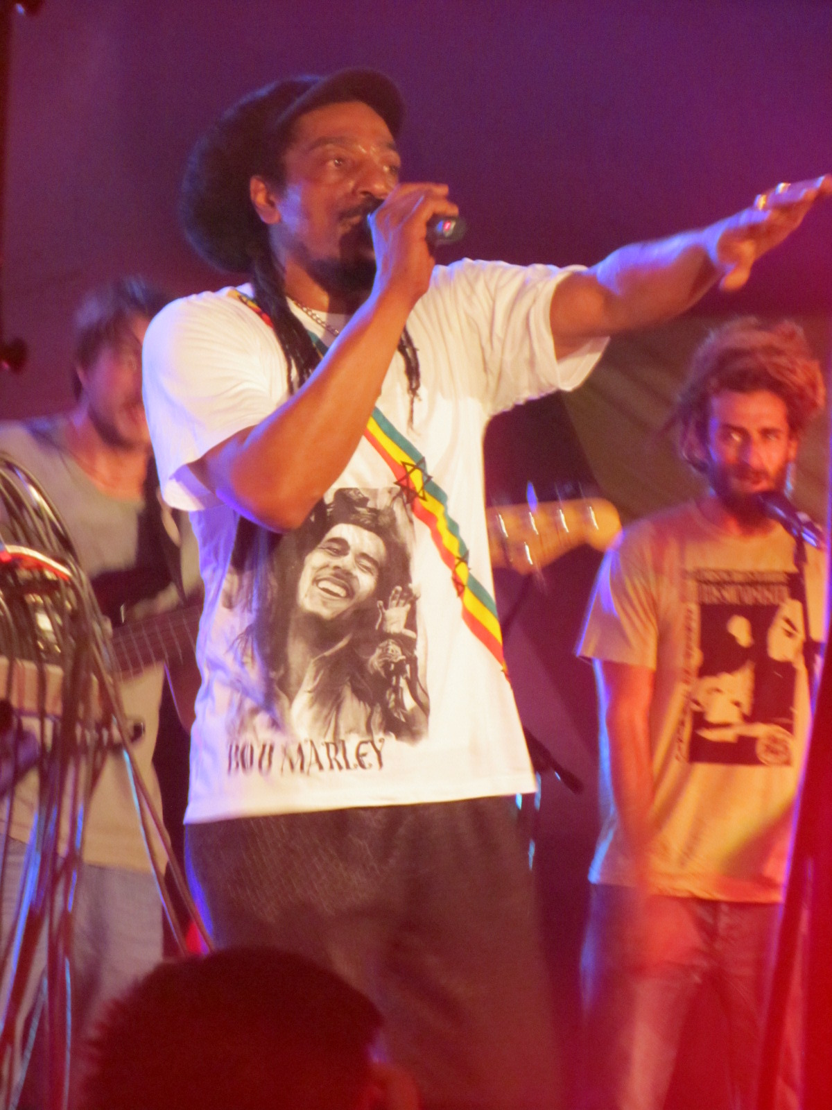 Earl Sixteen y Pachumba Aguere Reggae Tenerife, Canarias 2012