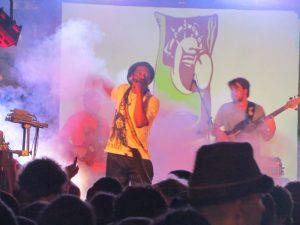 Earl Sixteen y Pachumba en Tenerife Aguere Reggae 2012