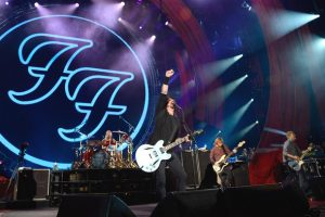 Foo Fighters en el Global Citizen Concert en Nueva York 2012