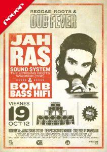 Jah Ras Sound System y Bomb  Bass Hi Fi en Bilbao 19 octubre 2012