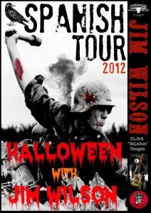 Jim Wilson gira española y europea. Concierto de Jim Wilson en SalaSon Cangas de Morrazo 31 de octubre 2012