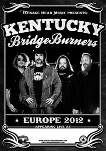 Kentucky Bridgeburners gira en España, gira europea 2012