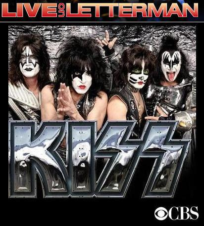 Kiss presentan Monster en el show de David Letternan