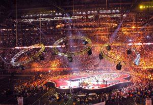 Nueva Gira de cuatro conciertos de The Rolling Stones en noviembre Londres O2 Arena y diciembre en Newark New Jersey. Diseño del escenario