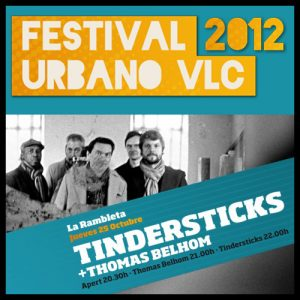 Tindersticks Festival Urbano VLC 2012 Valencia