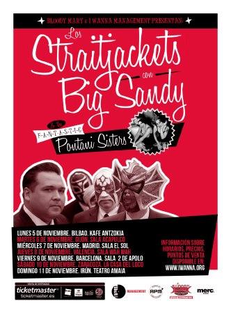 Big Sandy y Los Straitjackets gira en España noviembre 2012