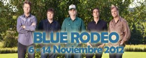 Blue Rodeo Spain Tour gira española del 6 al 14 de noviembre 2012
