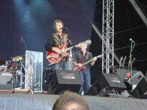 Blue Rodeo con Colin Cripps en el Azkena 2011, gira Blue Rodeo 2012