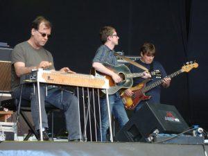 Blue Rodeo gira española 2012 Bon Egan al pedal steel