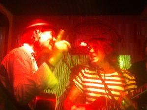 Brad Smith Abandon Jalopy y Blind Melon con Jonny Kaplan Madrid noviembre 2012  Siroco Lounge. Foto Olatz Herrera.