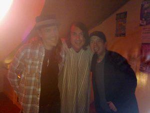 Brad Smith, Jonny Kaplan y Jim Wilson en la Sala El Sol de Madrid 2 noviembre 2012