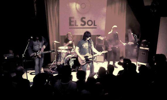 Dan Baird and Homemade Sin Madrid 2 noviembre 2012. Foto Sala El Sol.