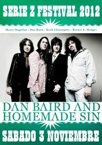 Dan Baird and Homemade Sin en el Serie Z Festival 2012