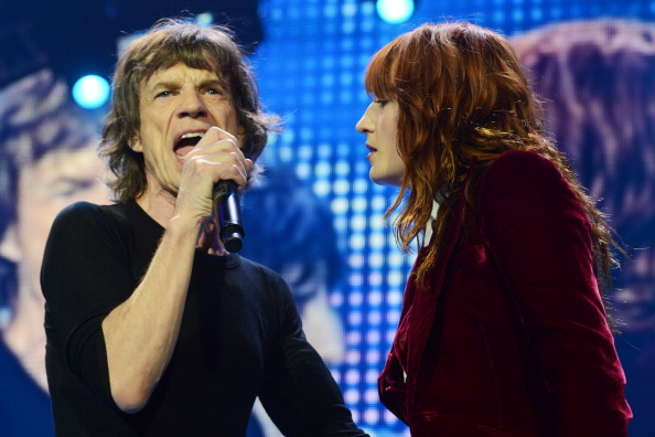 Florence Welch y The Rolling Stones 50th Anniversary Tour Gimme Shelter, Eric Clapton, Bill Wyman y Mick Taylor O2 London Arena 2012