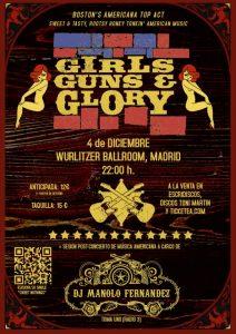 Girls Guns and Glory en Madrid 2012