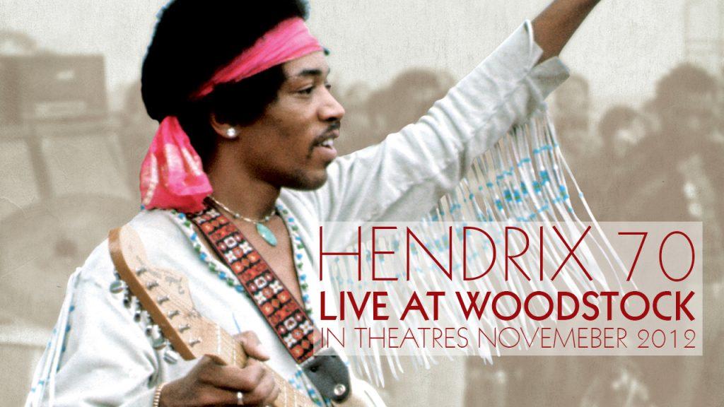 Hendrix 70 Live At Woodstock documental en cines 2012
