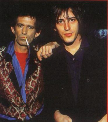 "Izzy Stradlin ""Baby Rann"" nuevo single y video. En la foto con Keith Richards 2012"