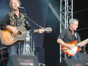 Jim Cuddy y Colin Cripps en el Azkena Rock.Gira española Blue Rodeo 2012