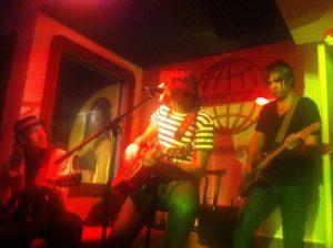 Jonny Kaplan y Abandon Jalopy en Siroco Lounge Madrid noviembre 2012 Spain Tour. Foto de Olatz Herrera