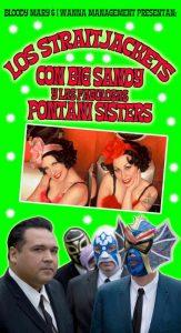 Los Straitjackets y Big Sandy con Las Pontani Sisters en España noviembre 2012 Spain Tour