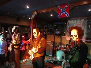 Los Tiki Phantoms en Tenerife decimo Tenerife 50's festival rock and roll Vulcan Rockers 2012