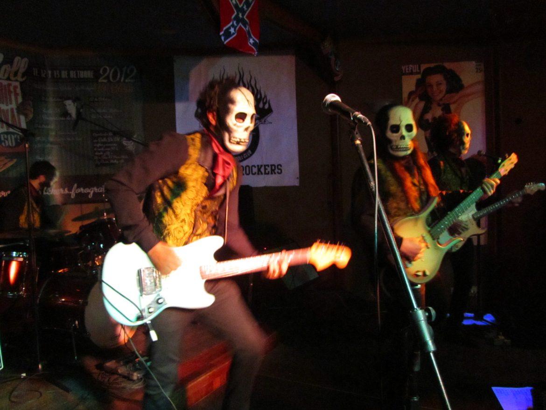 Los Tiki Phantoms en el 10 Tenerife Rock and Roll Festival organizado por Vulcan Rockers 2012
